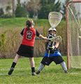 A Goal in Girls Lacrosse