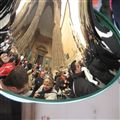 Good Friday in Sicily - self portrait on a brass instrument